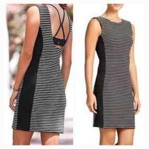 New Athleta Mala Dress Black and White